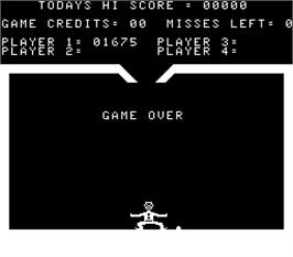 Game Over Screen for Gypsy Juggler.