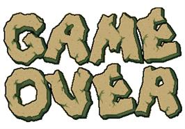 Game Over Screen for Hammer.