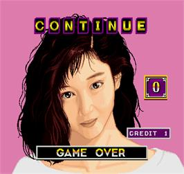 Game Over Screen for Hana Oriduru.