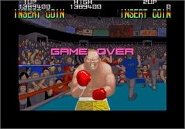 Game Over Screen for Hard Puncher.