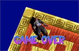 Game Over Screen for Heaven's Gate.