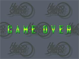 Game Over Screen for Heavy Smash.