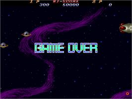 Game Over Screen for Hellfire.