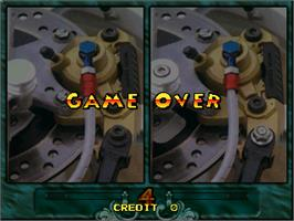 Game Over Screen for Hidden Catch.