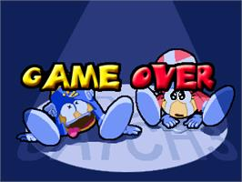 Game Over Screen for Hidden Catch 3.