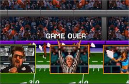 Game Over Screen for High Impact Football.