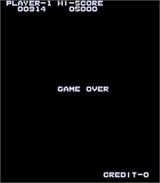 Game Over Screen for High Way Race.