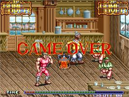 Game Over Screen for Hook.