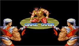 Game Over Screen for Huo Feng Huang.