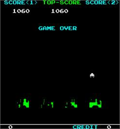 Game Over Screen for IPM Invader.