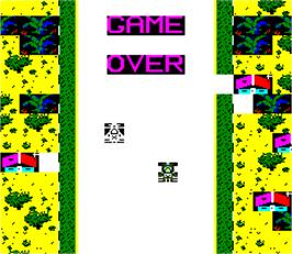 Game Over Screen for Imola Grand Prix.
