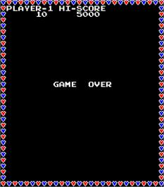 Game Over Screen for Jolly Jogger.
