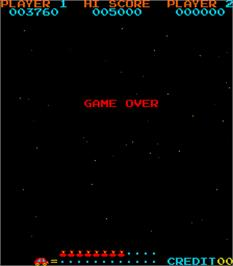 Game Over Screen for Jump Bug.