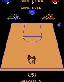 Game Over Screen for Jump Shot Engineering Sample.