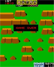 Game Over Screen for Jumping Jack.