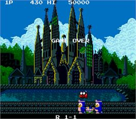Game Over Screen for Jumping Pop.