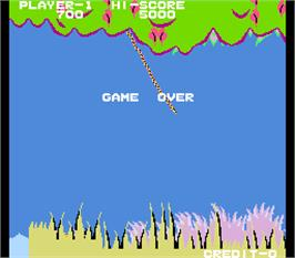 Game Over Screen for Jungle Boy.