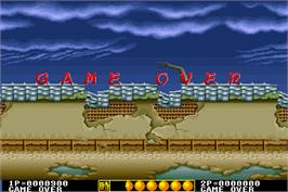 Game Over Screen for Ken-Go.