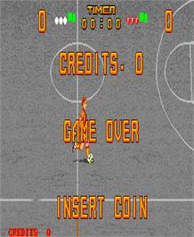 Game Over Screen for Kick Goal.
