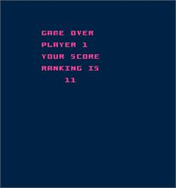 Game Over Screen for Kickman.