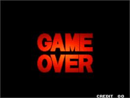 Game Over Screen for King of Gladiator.