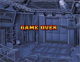 Game Over Screen for Knuckle Heads.