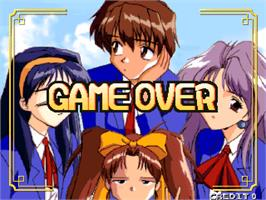 Game Over Screen for Koi Koi Shimasho.