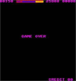 Game Over Screen for Laser Battle.