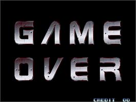 Game Over Screen for Last Resort.