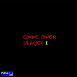 Game Over Screen for Leprechaun.