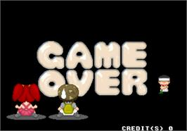 Game Over Screen for Live Quiz Show.
