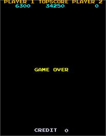 Game Over Screen for Lizard Wizard.