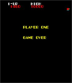 Game Over Screen for Loco-Motion.