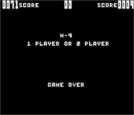 Game Over Screen for M-4.