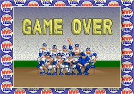Game Over Screen for MVP.