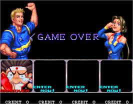 Game Over Screen for Mach Breakers - Numan Athletics 2.