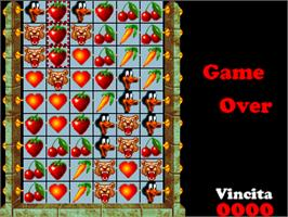 Game Over Screen for Magic Sticks.