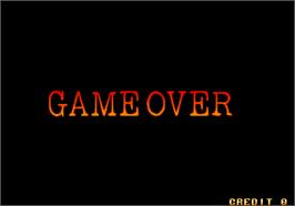 Game Over Screen for Magical Cat Adventure.