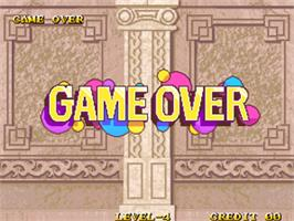 Game Over Screen for Magical Drop III.