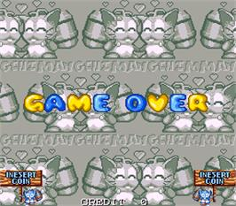 Game Over Screen for Mang-Chi.