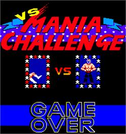 Game Over Screen for Mania Challenge.