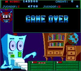 Game Over Screen for Master Boy.