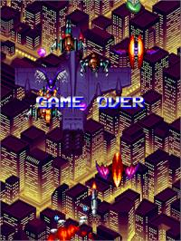 Game Over Screen for Mazinger Z.