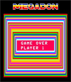 Game Over Screen for Megadon.