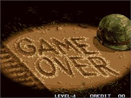 Game Over Screen for Metal Slug - Super Vehicle-001.