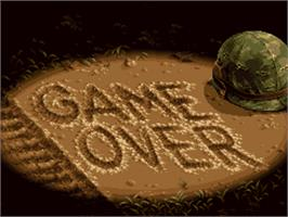 Game Over Screen for Metal Slug 3.