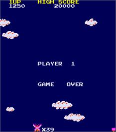 Game Over Screen for Mighty Monkey.