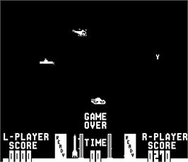 Game Over Screen for Missile X / Guided Missile.