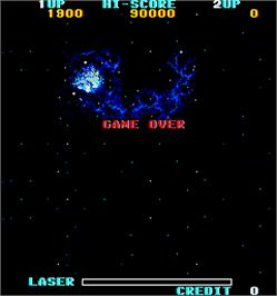 Game Over Screen for Mission 660.