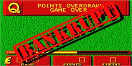 Game Over Screen for Monopoly.